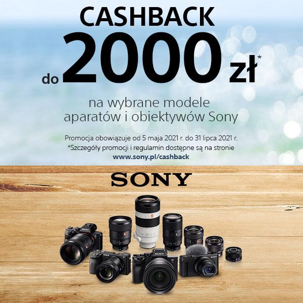 Promocja Cashback Sony 2021